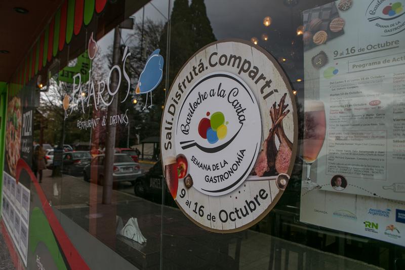 Bariloche a la Carta Agencia de publicidad Bariloche gastronomía evento Comunicación Martín Domínguez
